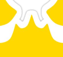 Scarecrow's Bat-Signal Sticker