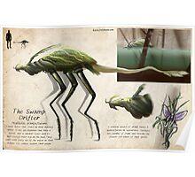 The Swamp Drifter Poster