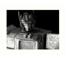Tough Day In The Office - BW Art Print