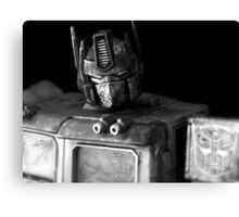 Tough Day In The Office - BW Canvas Print