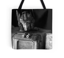 Tough Day In The Office - BW Tote Bag