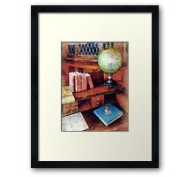 Education - Professor's Office Framed Print