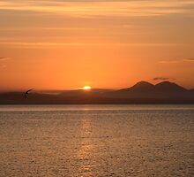 Islay: Loch Indaal Sunrise by Kasia-D