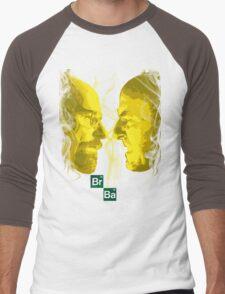 Heisenberg vs Schrader Men's Baseball ¾ T-Shirt