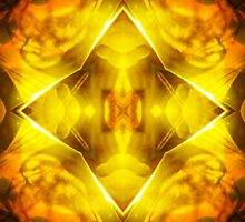 Golden Harmony by MSRowe Art and Design
