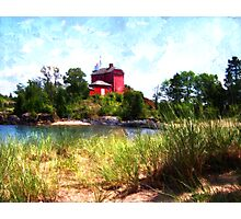 Summer Lighthouse Photographic Print