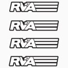 RVA - A Real Local Hero! STICKERS by Lee Lacy