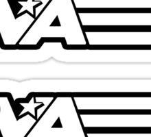 RVA - A Real Local Hero! STICKERS Sticker