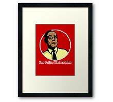 Gustavo Fring, Breaking bad Framed Print