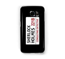 Sherlock Holmes Street Sign Samsung Galaxy Case/Skin