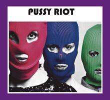 Pussy Riot (three heads) by Amanda001