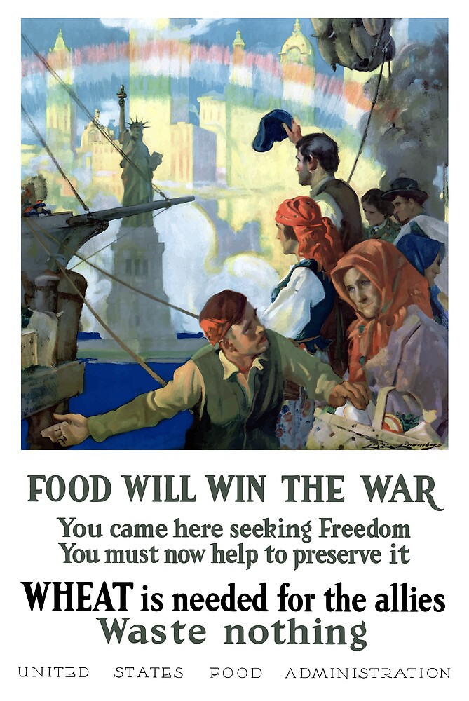Food Will Win The War by warishellstore