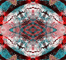Aquatic Lace 5 by SRowe Art
