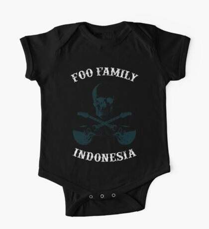 Foo Family Indonesia One Piece - Short Sleeve