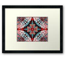 Aquatic Lace 6 Framed Print