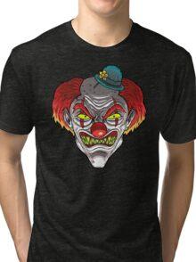 Badass Clown Tri-blend T-Shirt