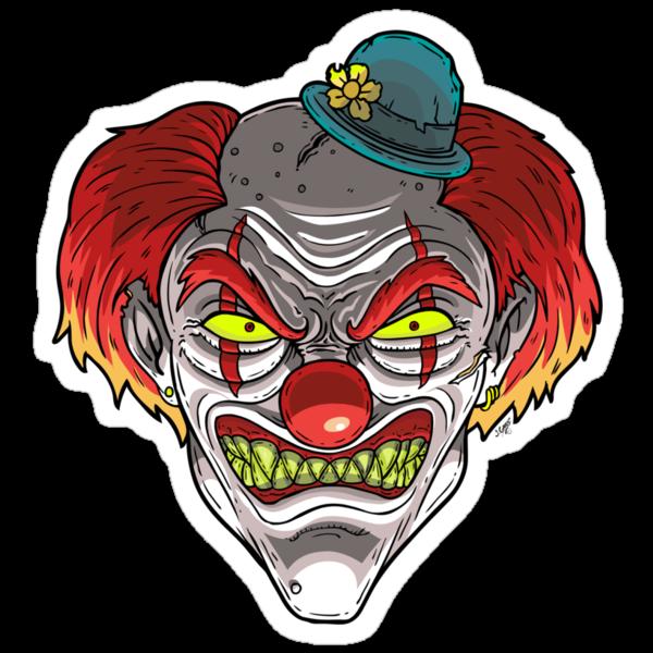 Badass Clown by Joey Gates