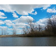 Estuary in Early Spring 3 Photographic Print