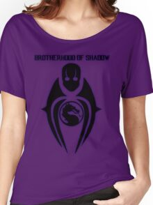 Mortal Kombat X - Brotherhood of Shadow Women's Relaxed Fit T-Shirt