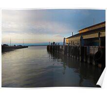 Sandusky Bay Reflections 2 Poster