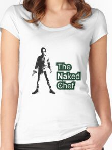 Naked chef Women's Fitted Scoop T-Shirt