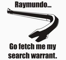 Gene Hunt's Search Warrant. by Nirokia