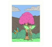 Eight Realms: Tanora the Wood Sprite... Art Print
