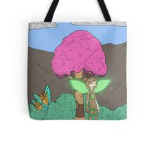 Eight Realms: Tanora the Wood Sprite... Tote Bag