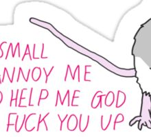 Sassy Mouse Sticker