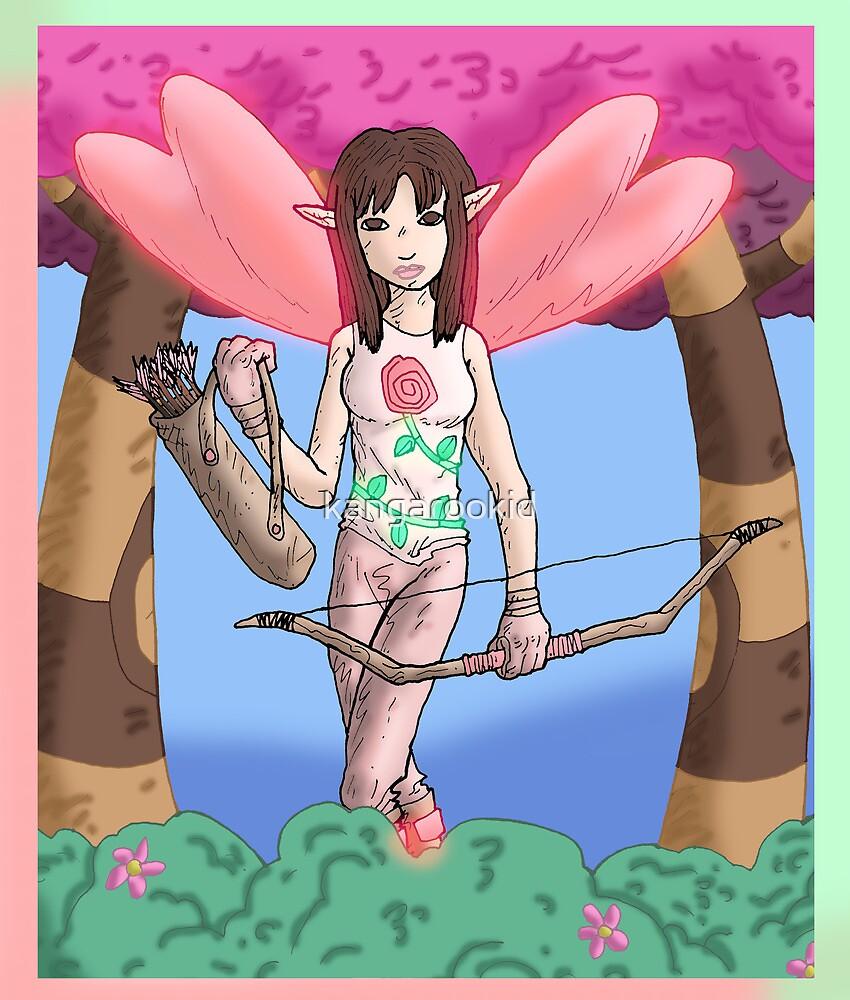 Eight Realms: Michelle the Rose Fairy (aka the Maiden of Raven)...... by kangarookid
