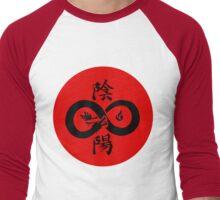 Loop Dragon - japan Men's Baseball ¾ T-Shirt