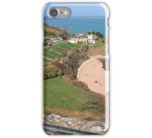 St Catherine's from Gorey Castle, Jersey iPhone Case/Skin