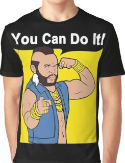 Mr T You Can Do It Gym Graphic T-Shirt