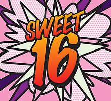 Comic Book SWEET 16 by theimagezone