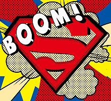 superman boom  by mark ashkenazi