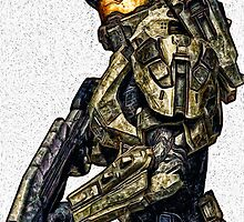 Master Chief by Joe Misrasi