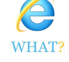 Typical Internet Explorer Sticker