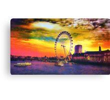River Thames Canvas Print