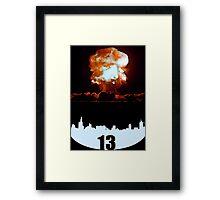 Hungers Games Poster-D13 Framed Print