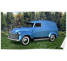 1951 Chevrolet Panel Truck Poster