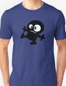 man cartoon fun funny swag boy T-Shirt