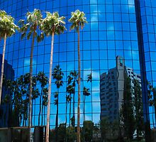 San Diego Reflections in a Blue Sky by heatherfriedman