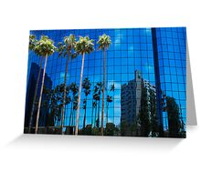 San Diego Reflections in a Blue Sky Greeting Card