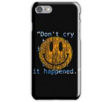Be fond of your memories iPhone Case/Skin