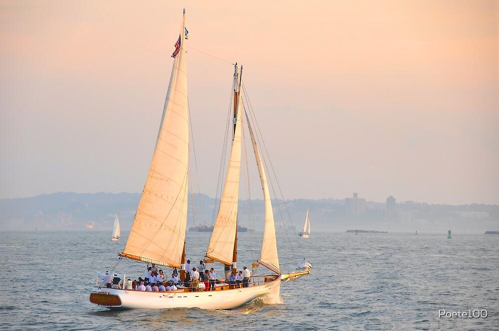 Adirondack sailing the Hudson... by Poete100