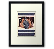 Black Eyes & a Split Lip Framed Print