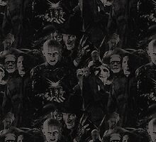 Horror Icons Collage by Ryan Preston