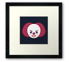 Pennywise the Dancing Clown Framed Print