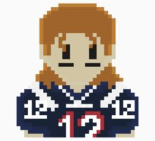 8Bit Tom Brady 3nigma NFL T-shirt Kids Clothes