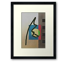 Bold Moves Framed Print
